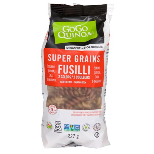 Super Grains Fusilli 2 Colors
