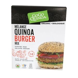 ORGANIC QUINOA & AMARANTH BURGER MIX